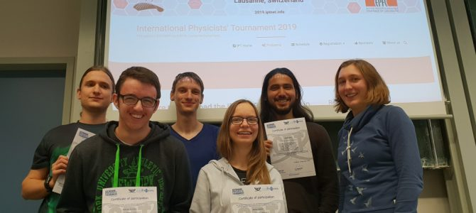 Erlanger Physikstudierende gewinnen das German Physicists' Tournament